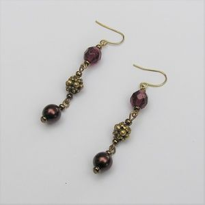 Chico's Cranberry Earrings